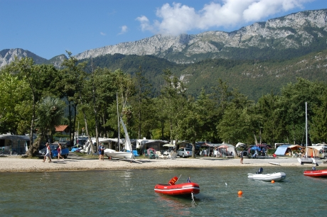 camping lac d'annecy